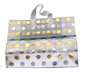 Amazon.com: JS - Bolsas de plástico esmerilado para la ...