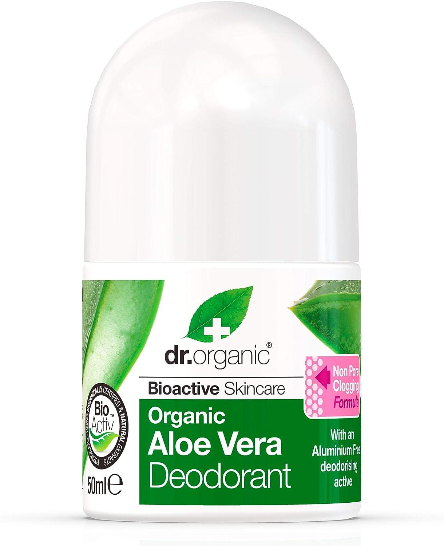 Dr. Organic Desod. Aloe vera 50 ml dr. Organic 1 Unidad 500 g