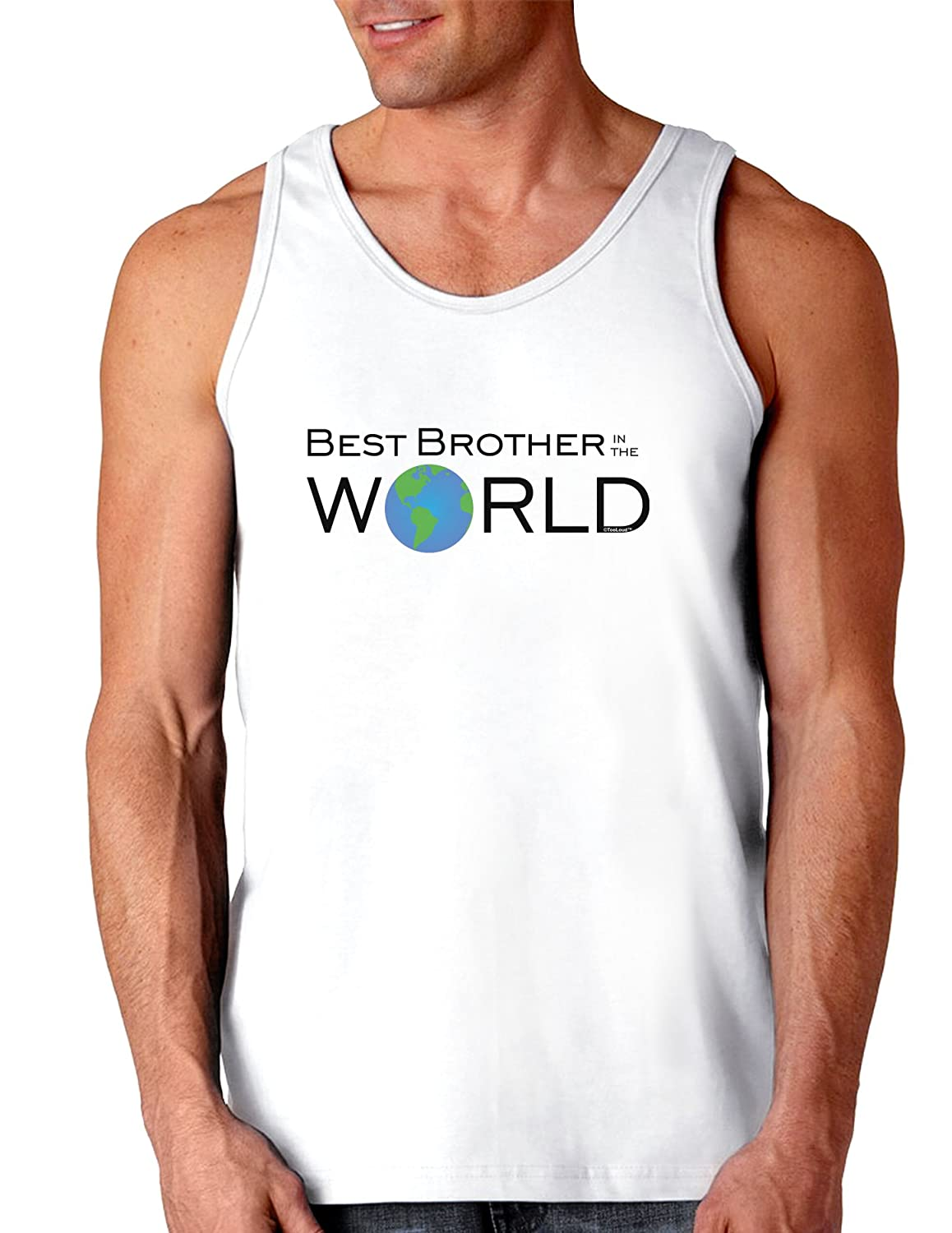 Best Brother in the World Loose Tank Top