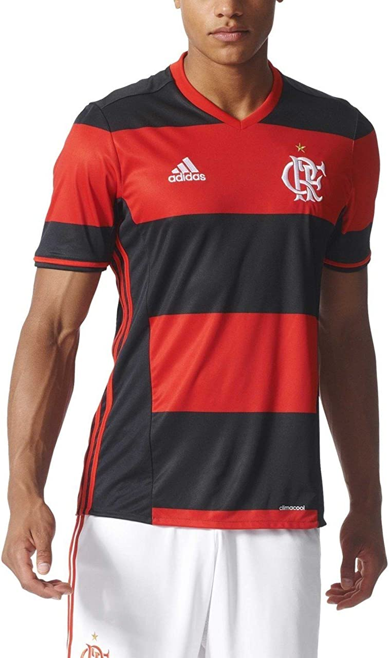 adidas para Hombre (fútbol fútbol CR Flamengo casa Camiseta ...