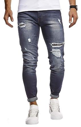 LEIF NELSON LN9425 - Pantalones Vaqueros Ajustados para ...