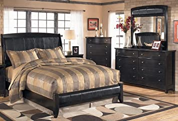 Amazon.com: Harmony 4-Piece Bedroom Set with Queen Size Sleigh Bed on dark brown antique furniture, dark brown media chest, chocolate bedroom sets, light green bedroom sets, black bedroom sets, bronze bedroom sets, dark brown rustic furniture, dark brown sectional couches, dark brown wood bedroom, indigo bedroom sets, grey bedroom sets, aqua blue bedroom sets, platinum bedroom sets, cobalt blue bedroom sets, light blue bedroom sets, dark brown curios, dark brown painted bedroom, forest bedroom sets, dark brown shelving, dark brown cedar chest,
