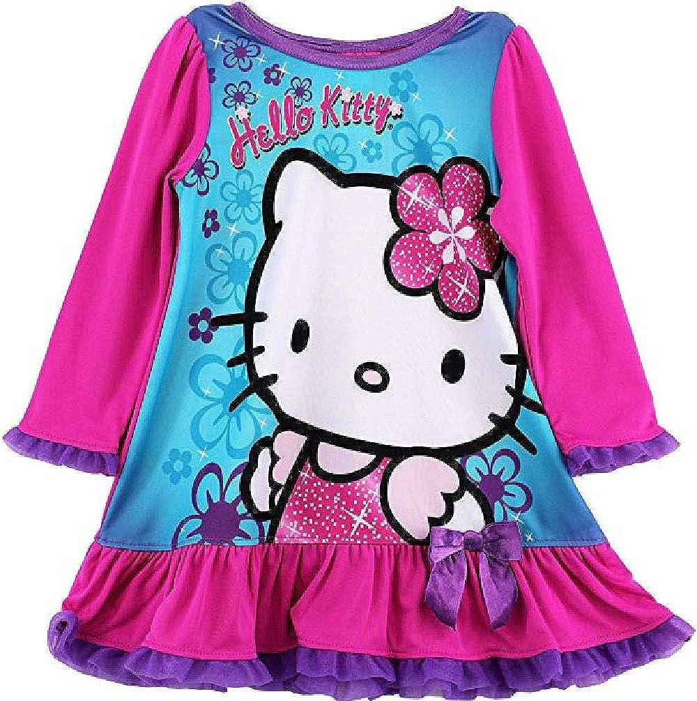 Hello Kitty Girls Dressy Nightgown