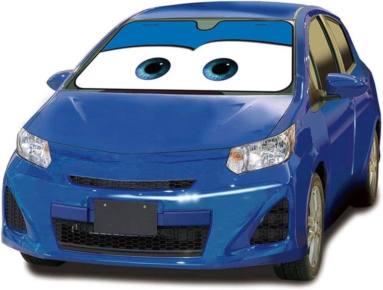 Mfeir Disney Car Blue Auto Sonnenblende Sonnenschutz Frontscheibe Blendschutz Windschutzscheibe Schattenspender Autozubehör Im Sommer Auto