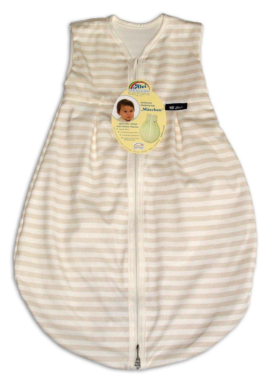 Alvi Baby Mäxchen Light Schlafsack Blockstreifen Beige 70cm: Amazon.de:  Bekleidung