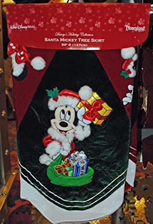 Disney Santa Mickey Mouse U0026 Pals Christmas Tree Skirt