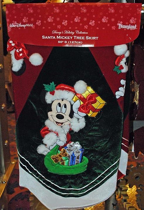 Disney Santa Mickey Mouse U0026 Pals Christmas Tree Skirt