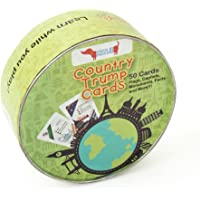 CocoMoco Kids Country Trump Cards