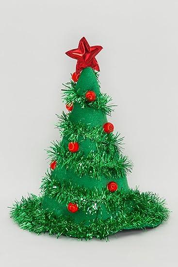 Women's Light-Up Christmas Tree Hat