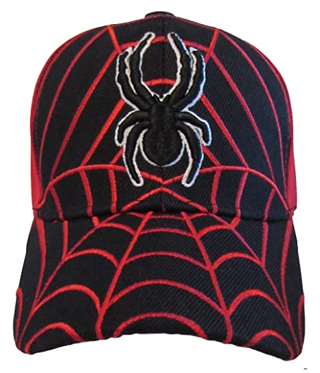 Amazon.com  Kid s Youth Spider Man Hat - Adjustable Baseball Cap ... 21386ba6e202