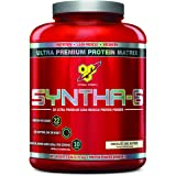 BSN SYNTHA-6 Protein Powder, Whey Protein, Micellar Casein, Milk Protein Isolate, Flavor: Chocolate Cake Batter, 48 Servings