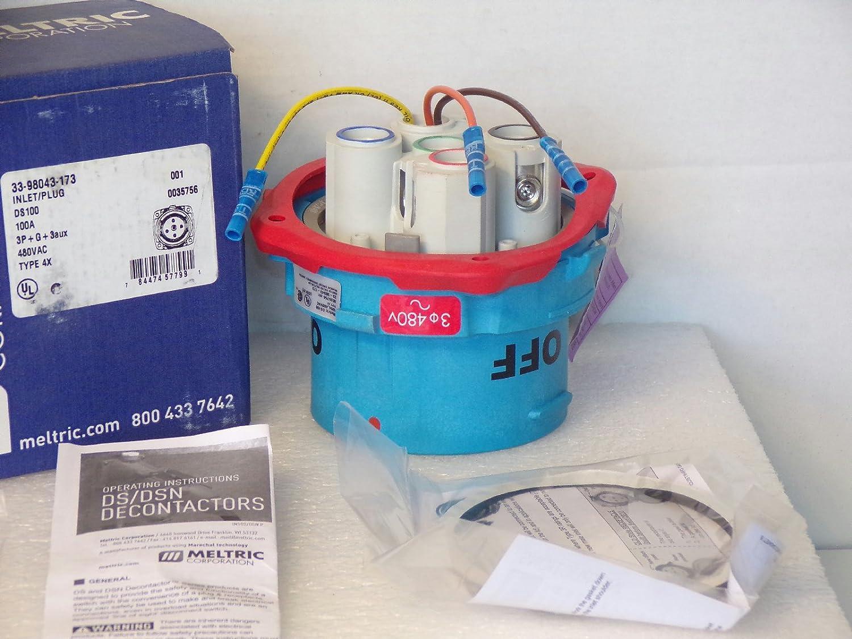 Meltric DS 100 AMP Plug