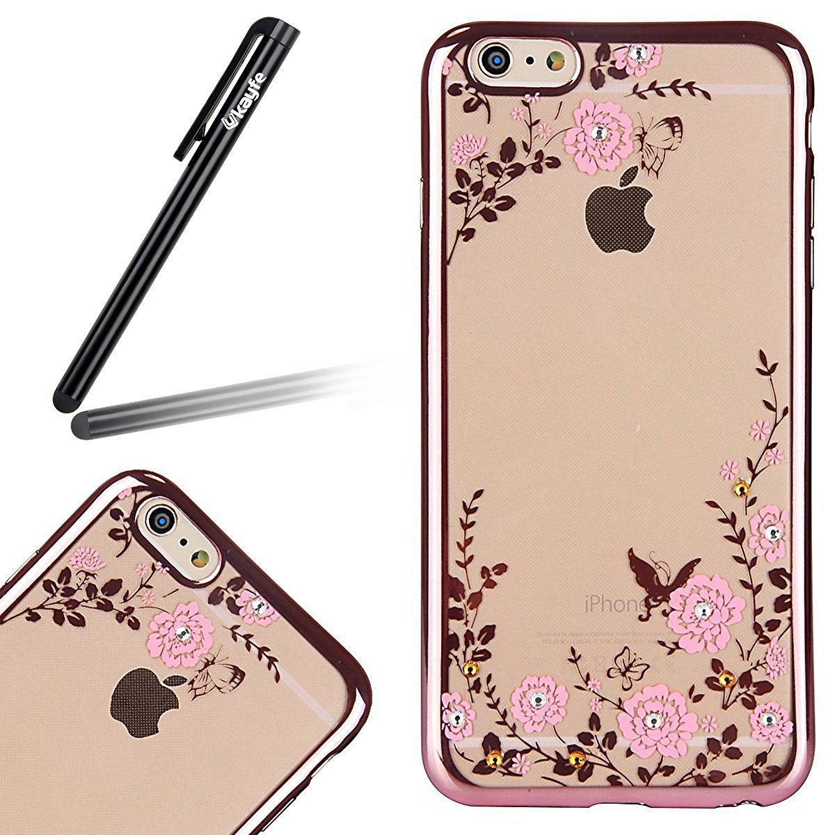 coque iphone 6 or rose
