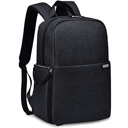 "Caden Dslr Slr Camera Bag Backpack With 14"" Laptop Compartment Waterproof For Women Men Photographers, Camera Case Backpack For Nikon Sony Canon Mirrorless Cameras Tripod Accessories by Ca De N"