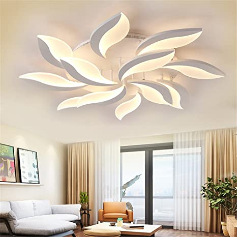 Acrylic Modern Led Ceiling Lights For Living Study Room Bedroom