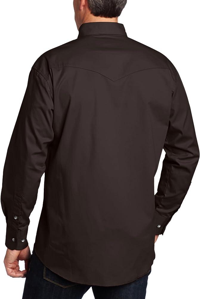 Camisa básica de desierto pintado de Wrangler los hombres negro, XX-grande: Amazon.es: Ropa y accesorios