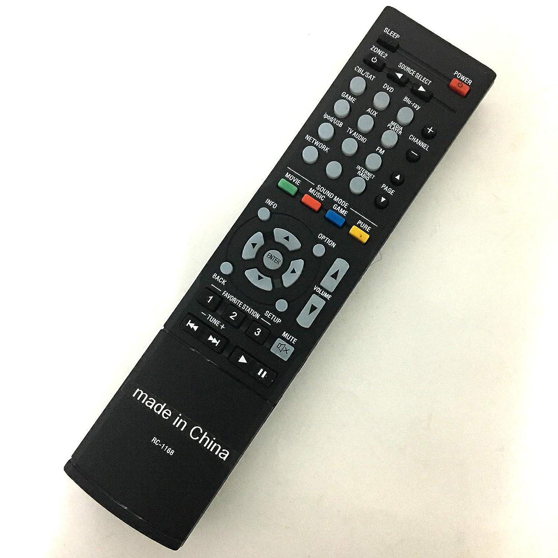 FidgetFidget Receiver Remote Control for Denon RC-1168 RC-1170 RC-1183 RC-1157 RC1156 AV A/V
