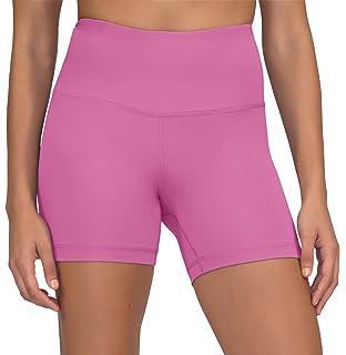 a39f23f2bd74e4 Yogalicious Ultra Soft Lightweight Hi Rise Shorts - High Waist Yoga Shorts