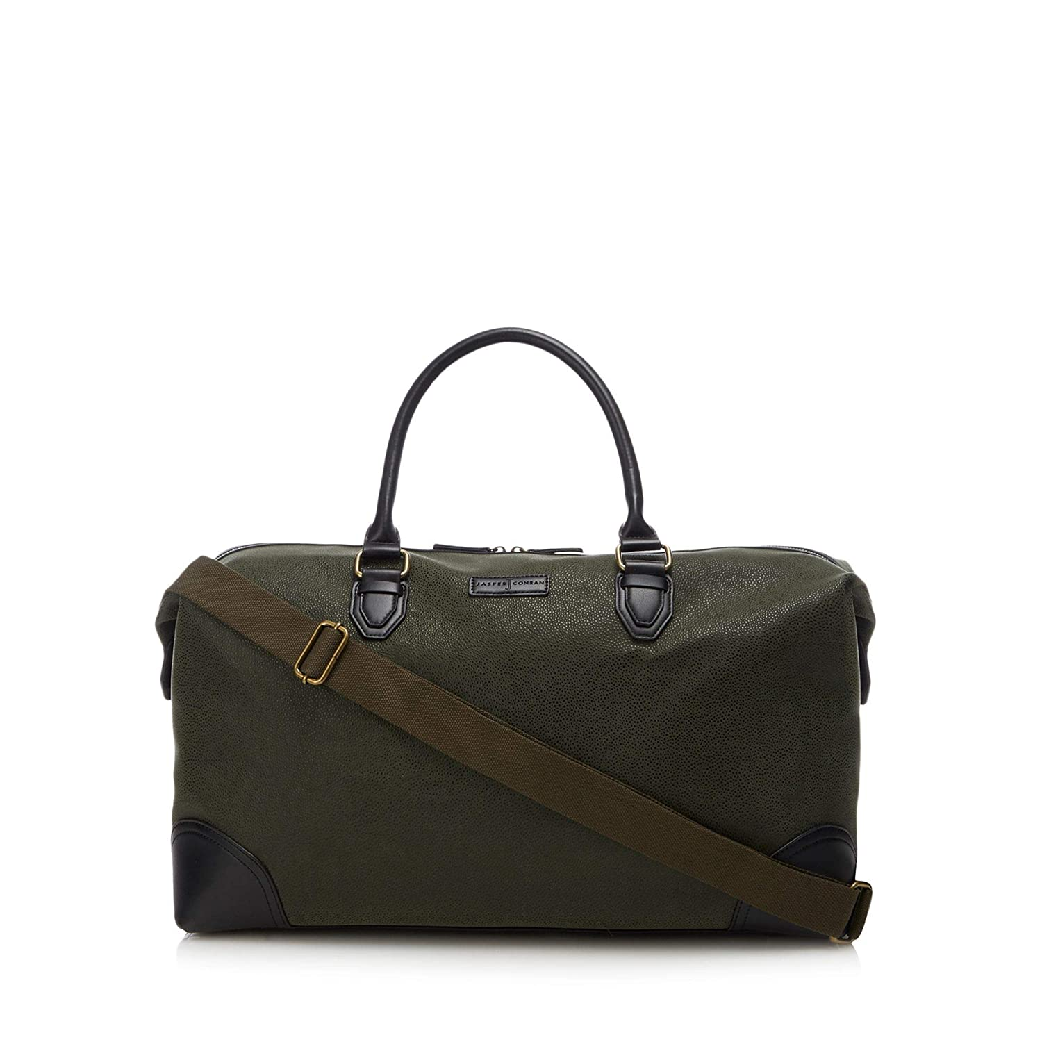 b9e74bd2b506 J By Jasper Conran Men Olive Textured Holdall Bag One Size  J by Jasper  Conran  Amazon.co.uk  Clothing