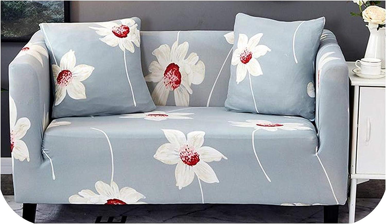 Funda elástica para sofá de dos plazas, funda para sofá seccional, estilo L, Xianrenqiu, 4 plazas, 235 – 300 cm, Wanqiu, 1...