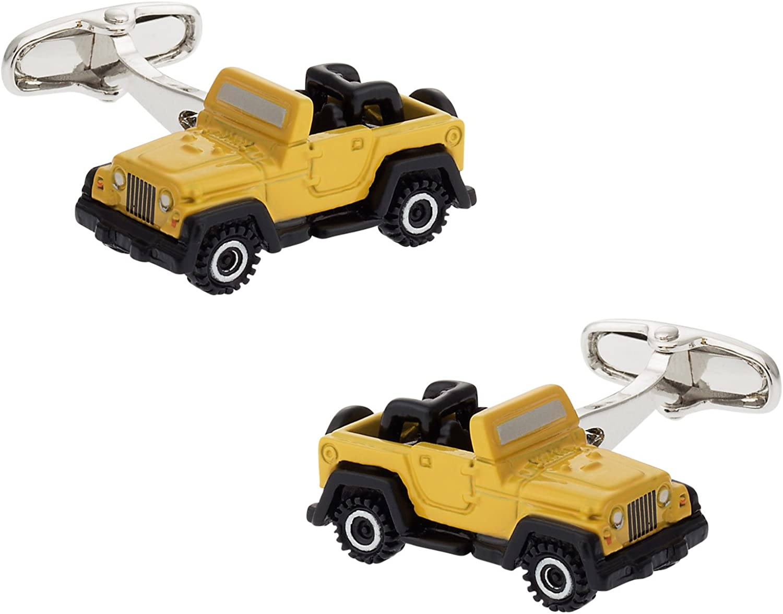 Cracked Pepper Cuff-Daddy Army Vehicle Cufflinks with Presentation Box