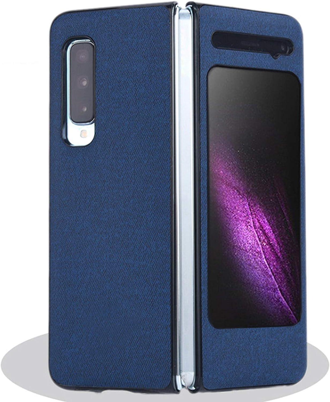 Desconocido Funda con Tapa antigolpes para Samsung W20//W2020//Galaxy Fold//F9000//F907