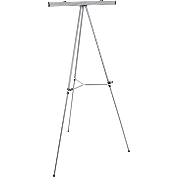 "US Art Supply Aluminum Metal 66/"" BLACK Flipchart Floor Display Easel 10-Easels"