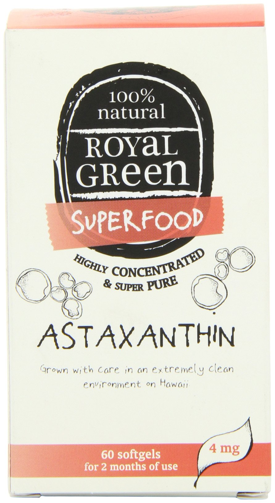Royal Green Astaxanthin 60 Caps