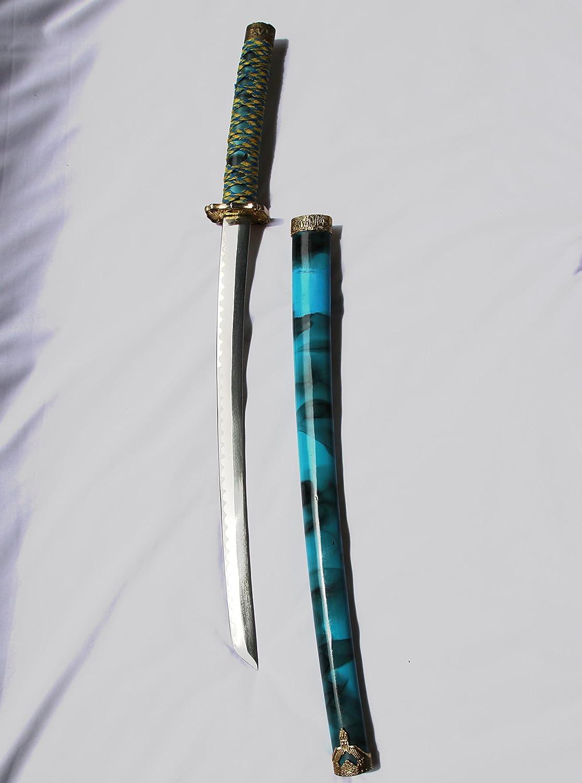 Schwert, japanisch-asiatisch, Katana 80cm, Stahlklinge, für Cosplay