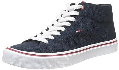 Tricot Pour Hommes Légers Chaussures De Sport Bas-top, Minuit Tommy Hilfiger