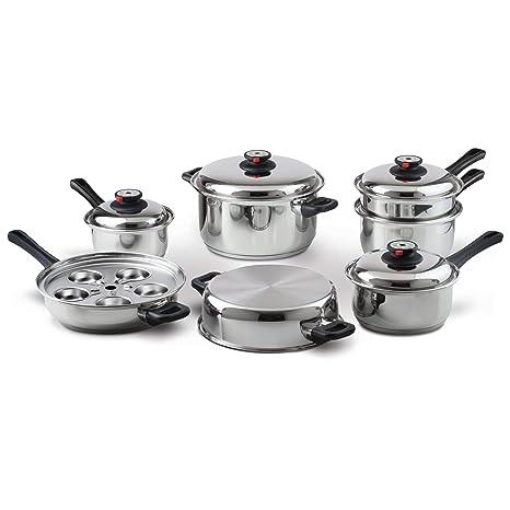 Amazon.com: Maxam - Juego de utensilios de cocina sin agua ...