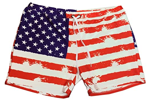 Amazon.com  Southern Designs American Flag Soft Shorts for Ladies ... 28b40c4a06