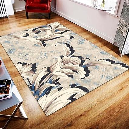 Ommda tappeti Salotto Soggiorno Moderni Home Stampa 3D tappeti Soggiorno  Pelo Corto Antiscivolo Lavabili Multicolore 160x230cm 9mm