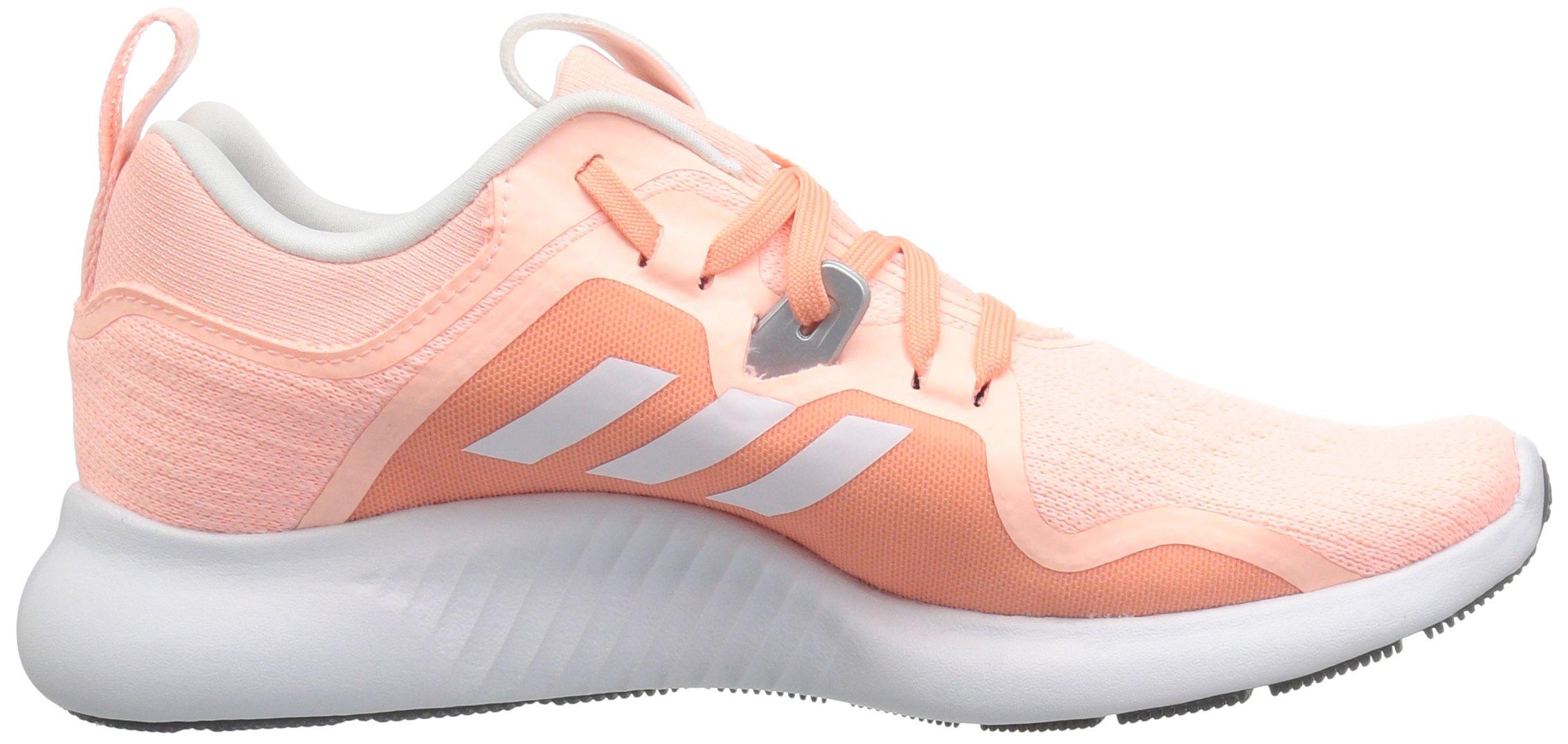 adidas Women's EdgeBounce Running Shoe Clear Orange/White/Copper Metallic 5 M US by adidas (Image #6)