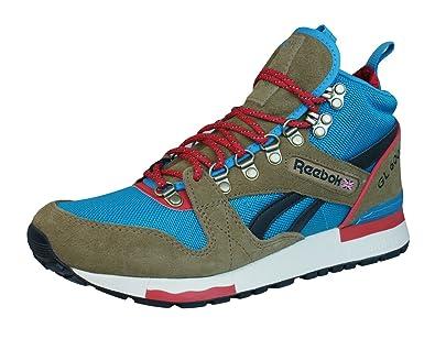 reebok 6000 gl. reebok gl 6000 mid mens top sneakers / shoes-brown-3 gl u