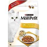 モンプチ バッグ 成猫用 5種のこだわりブレンド ターキー・チキン・お米・かつお・小魚味 600g [キャットフード・ドライ]
