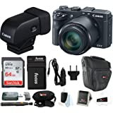 Canon PowerShot G3 X Digital Camera w/Electronic Viewfinder Bundle