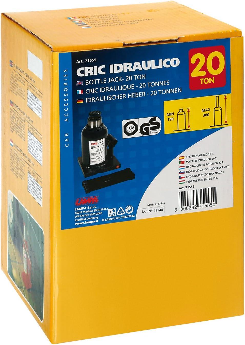 Lampa 71555 Cric Hydraulique 20 000 kg