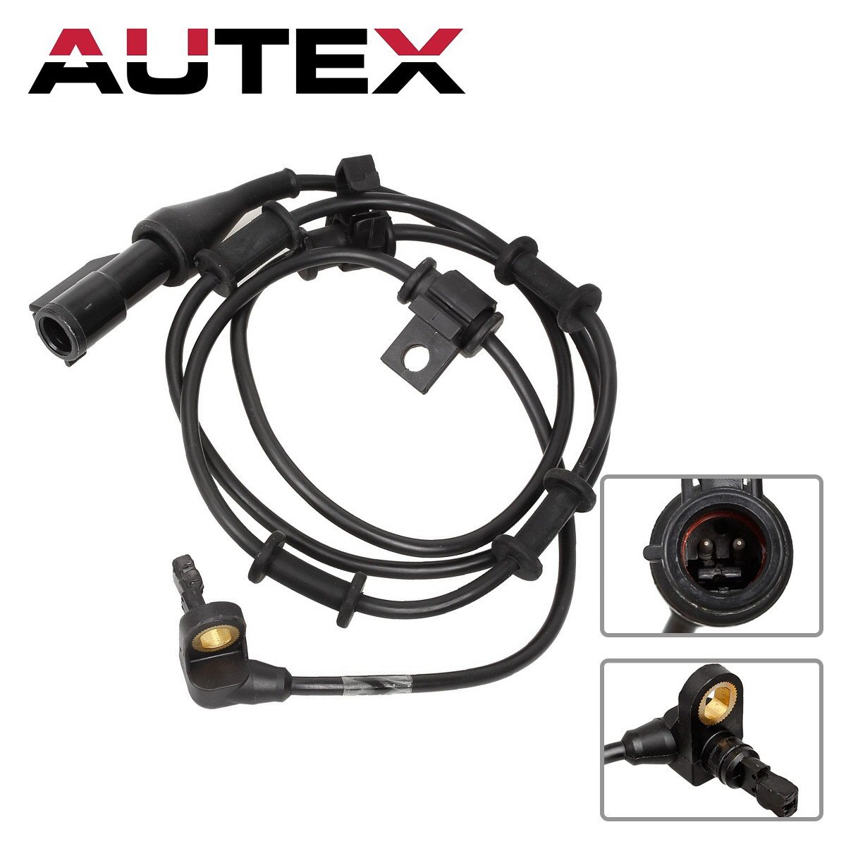 AUTEX ALS528 ABS Wheel Speed Sensor Front compatible with 2003 2004 2005 2006 Ford Expedition Lincoln Navigator