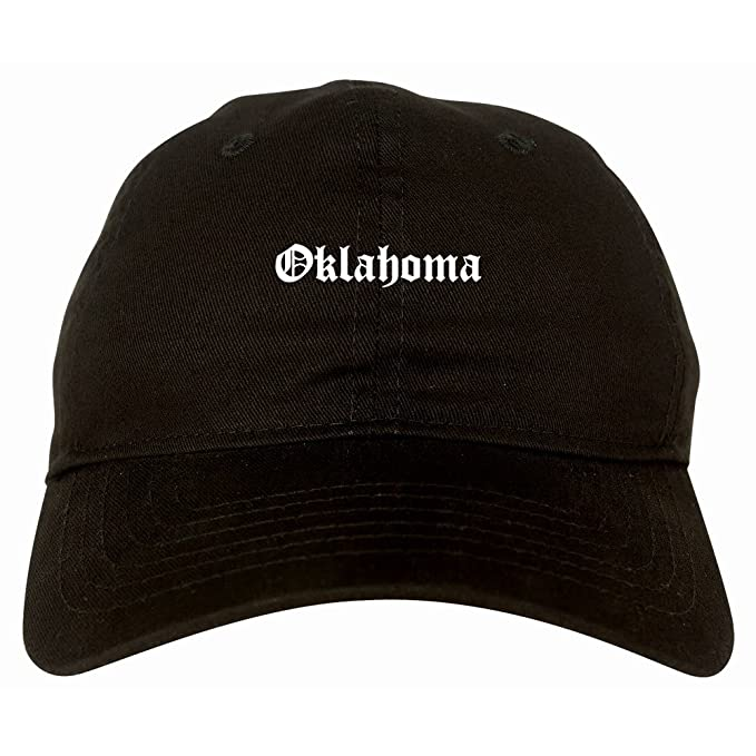 a97ec34a3f7 OK Oklahoma State Old English 6 Panel Dad Hat Black at Amazon Men s ...