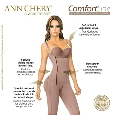 7d756d7f5 Ann Chery Comfort Line High Compression Post Surgical Daily Use Body Shaper