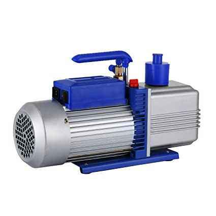Mophorn Double Stage Vacuum Pump HVAC 12 CFM 1HP Refrigerant Vacuum Pump AC  Air Conditioning Vacuum Pumping for Freezing Food Packaging Automobile