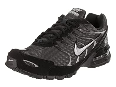 buy popular b69ad 4fcbe Nike Mens Air Max Torch 4 Anthracite Metallic Silver Black Running Shoes 7 M