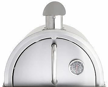 Campana de acero inoxidable de horno de pizza para Multi-Kulti®: Amazon.es: Jardín