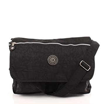 740a333783ced Umhängetasche DIN A4 Bag Street Dehnfalte schwarz  Amazon.de  Koffer ...