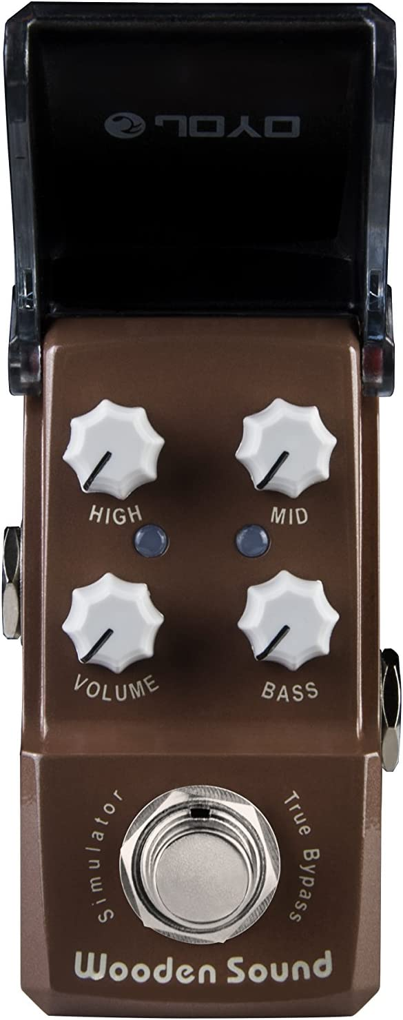 JOYO JF-323 Wooden Sound Acoustic Simulator Electric Guitar Single Effect