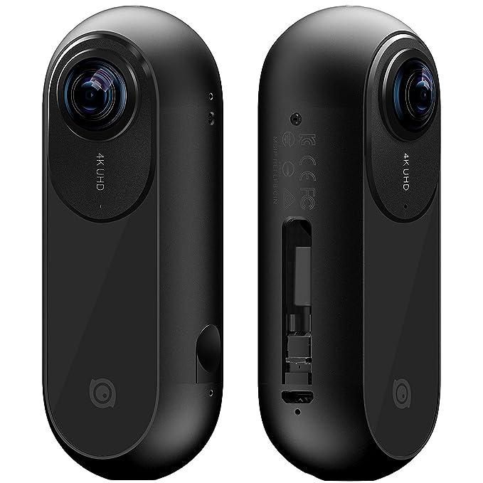 Insta360 ONE - Cámara 360 grados deportiva, Resolución 4K, Estabilizador de imagen integrado (24Mp, conexión Bluetooth 4.0, MicroSD, Lightning), color ...