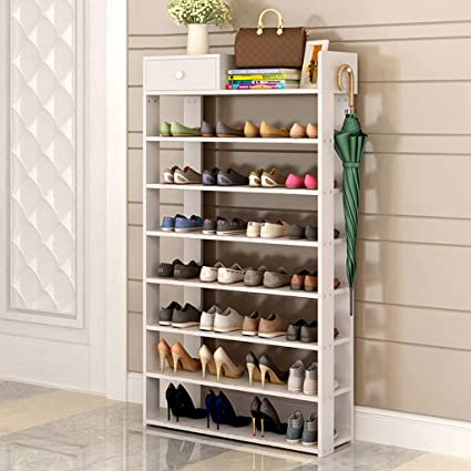 GLJ Simple Modern Shoe Rack Simple Home With Drawer Storage Rack Shoe Rack  (Color :