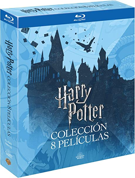 Harry Potter Colección Completa Ed. 2018 Blu-Ray Blu-ray: Amazon ...