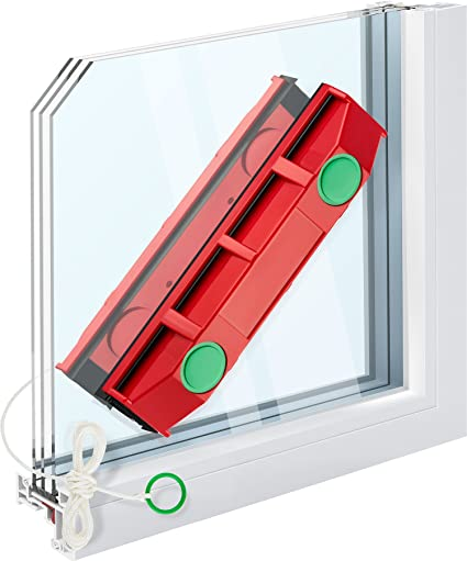 release date 48a0f 5aa2c Tyroler Bright Tools The Glider D-3, Magnetic Window Cleaner for Double  Glazed Windows Fit to 20-28mm Windows thickness